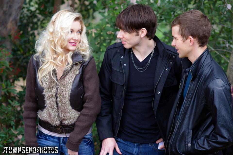 Tara, Jasin and Caleb in Vampire Boys 2