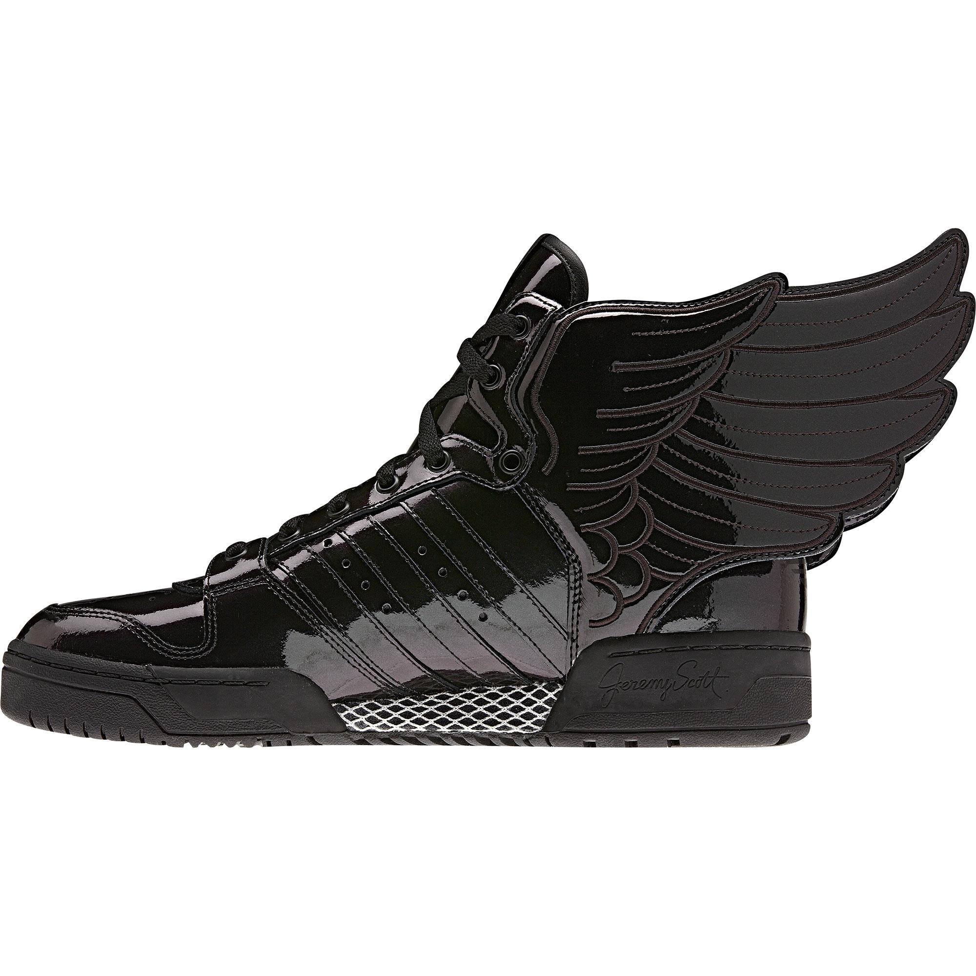 adidas Jeremy Scott black Wings 2.0 sneakers