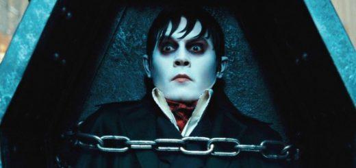 Johnny Depp as Barnabas Collins in the Tim Burton remake of Dark Shadows
