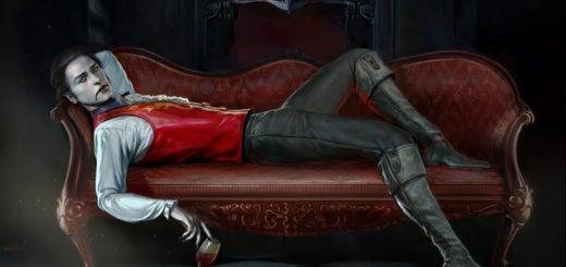 Vampire lounging