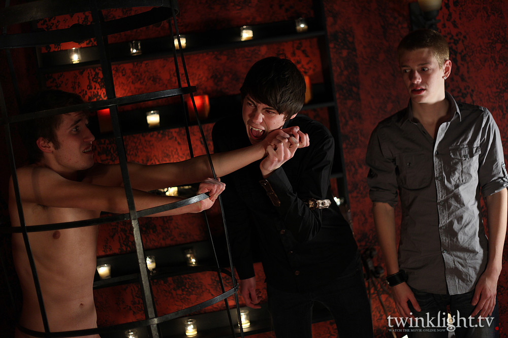 Kyle Richerds, Elijah White and Kain Lanning in Twinklight